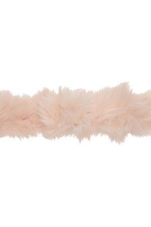 We11done Faux-Fur Belt