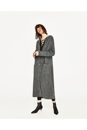 giacca lunga donna zara
