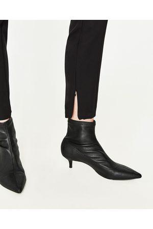 Donna Slim & Skinny - Zara PANTALONI A SIGARETTA VITA ALTA