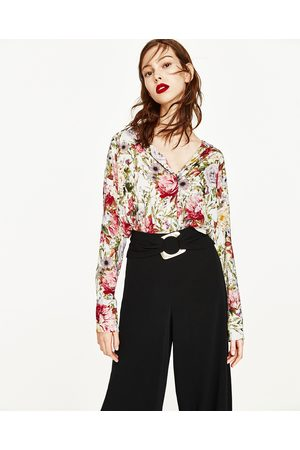 Donna Camicie - Zara CAMICIA STAMPA FLOREALE