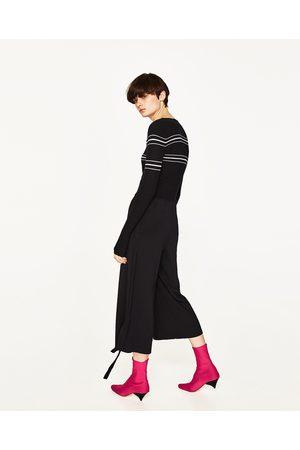 Donna Maglione - Zara PULLOVER CROPPED A RIGHE - Disponibile in altri colori