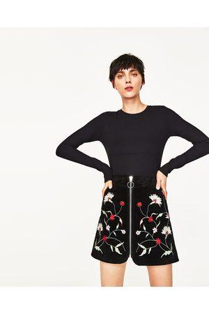 Donna T-shirts - Zara MAGLIETTA CANNETÉ SLIM FIT