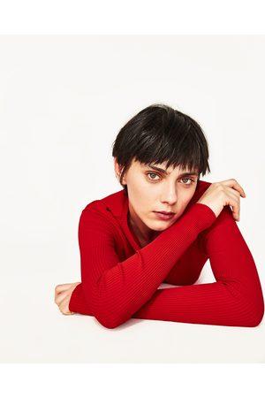 Donna T-shirts - Zara MAGLIETTA CANNETÉ SLIM FIT - Disponibile in altri colori