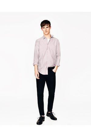 Uomo Camicie - Zara CAMICIA OXFORD A RIGHE