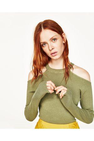 Donna Maglione - Zara PULLOVER SPALLE CUT OUT - Disponibile in altri colori