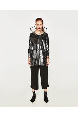 giacca trasparente donna zara