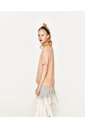 Donna T-shirts - Zara Disponibile in altri colori
