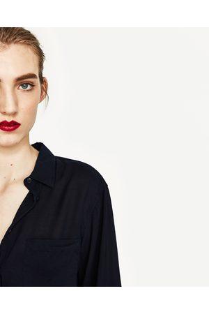 Donna Camicie - Zara CAMICIA OVERSIZE SPACCHI - Disponibile in altri colori