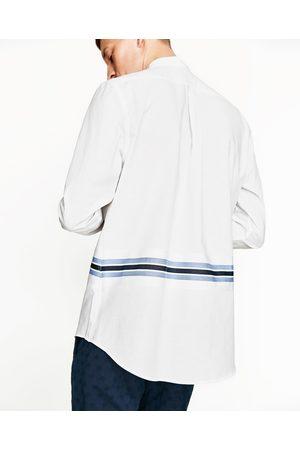 Uomo Camicie - Zara CAMICIA FASCIA A RIGHE