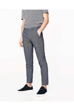Uomini Righe E Acqusita Compara Pantaloni Prezzi Online I Zara wEBTnx1dYx