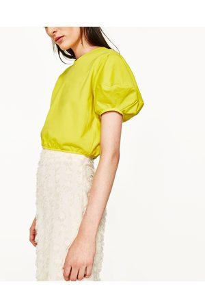 Donna Felpe - Zara FELPA CROPPED - Disponibile in altri colori
