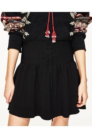 Donna Minigonne - Zara MINIGONNA LACCI - Disponibile in altri colori