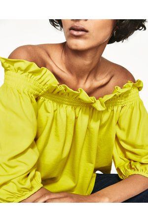 Donna Tops - Zara TOP SPALLE SCOPERTE - Disponibile in altri colori