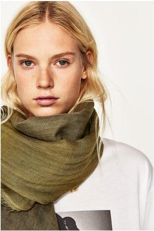 Donna Sciarpe - Zara FOULARD LINO TIE-DYE - Disponibile in altri colori