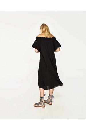 Donna Vestiti - Zara ABITO LUNGO SPALLE SCOPERTE - Disponibile in altri colori