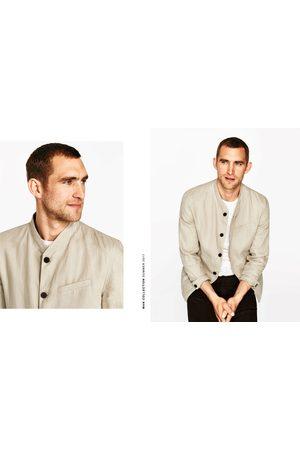 giacche lino coreana zara uomo
