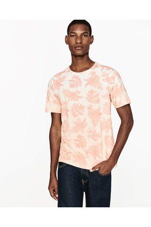 Uomo T-shirts - Zara T-SHIRT STAMPA DEGRADÉ - Disponibile in altri colori