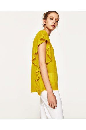 Donna Maglione - Zara PULLOVER VOLANT LATERALI - Disponibile in altri colori