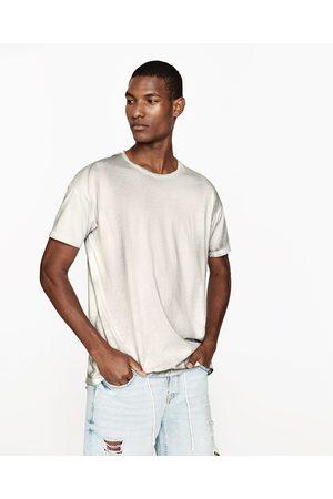 Uomo T-shirts - Zara MAGLIETTA SURFACE DEGRADÉ - Disponibile in altri colori