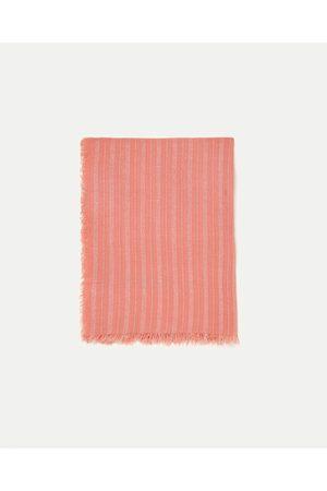 Donna Sciarpe - Zara FOULARD A RIGHE BRILLANTE - Disponibile in altri colori