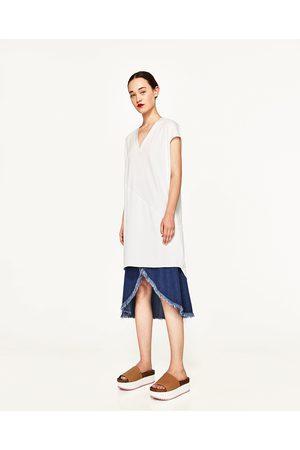 Donna Tuniche - Zara TUNICA COMBINATA - Disponibile in altri colori